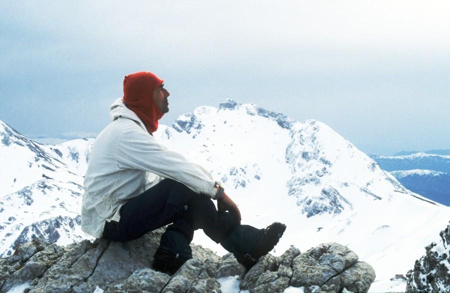 Μια μοναχική χειμερινήανάβαση