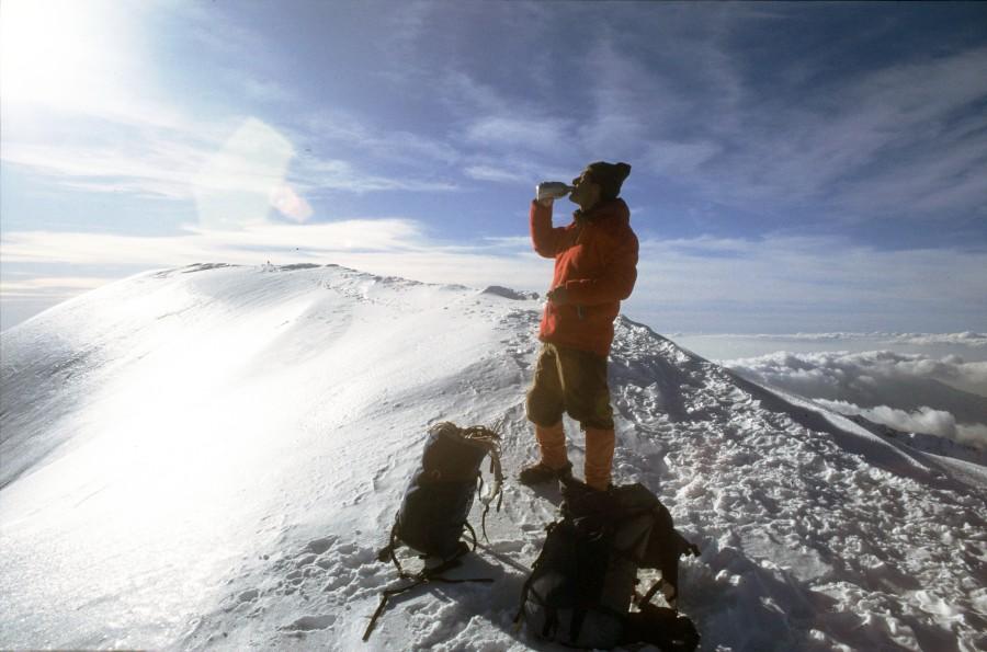 Στην χειμωνιάτικη ανάβαση στον Προφήτη Ηλία του Ταϋγέτου, υπάρχει και ηεπιστροφή..